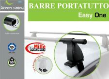 BARRE PORTATUTTO IN ACCIAIO CHEVROLET SPARK DAL 2010 NO RAILS PREMONTATO EASY