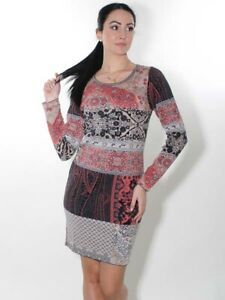 NEU Glückspilz Strickkleid 36 38 40 42 44 taupe rosa schwarz Baumwolle