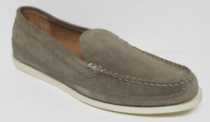 FRYE BAXTER SLIP ON LOAFER CASUAL SHOES SUEDE LEATHER MOC TOE REMOVABLE INSOLE