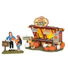 Dept 56 Halloween Village Patty'S Pumpkin Patch Boxed Set Of 4 New 2020 6005479