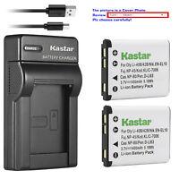 Kastar EN-EL10 Battery Charger for Nikon Coolpix S520 S570 S600 S700 S4000 S5100