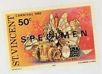 St. Vincent #655 MNH Specimen CV$0.50 Carnival 1982