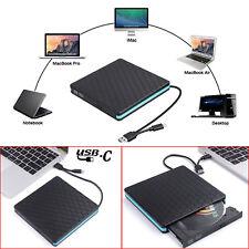 Type-C USB DVD CD RW Drive External Burner Writer for Apple Mac Macbook Pro Air
