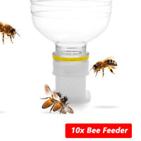 10x Beekeeping Tools Bee Feeding Water Automatic Drink Input Feeder Cap