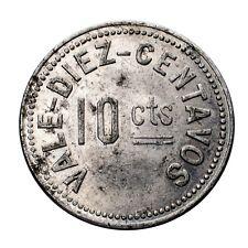 Quitobaquito Quitovaquita Mining Token 10 Centavos Manuel Levy Hal Birt Jr.