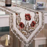 Vintage Table Runner Elegant Runner Cabinet Room Dining Room Table Decoration