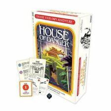 House Of Danger Choose Your Own Adventure Game Fantasy Flight FFG CYA01 Family