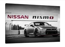 NISMO Nissan GTR 30x20 Inch Canvas - Framed Picture Poster Print