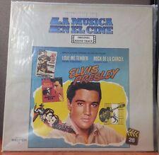 RARE Elvis Historica De La Musica En El Cine Spanish Album