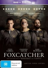 Foxcatcher - Drama / Thriller / True Events / Sport - Channing Tatum - NEW DVD