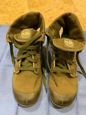 Palladium Womens Size 10 Pallabrouse Baggy Chukka Boots Army Green