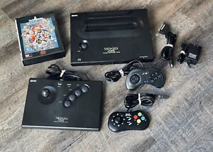 NEO GEO AES Console Arcade Stick Controller Pads 161in1 Cartridge RGB SCART SNK