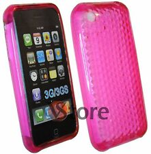 Cover Silicone Gel TPU Fuchsia for iPhone 3/3 G/3GS