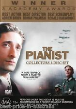 The Pianist DVD BRAND NEW TOP 250 MOVIES BEST PICTURE BIOGRAPHY DRAMA 2-DISCS R4