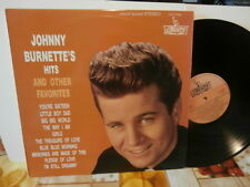 """johnny burnette""""hits and others favourites""""lp12""""-usa.liberty:lst7206.de 1991"""