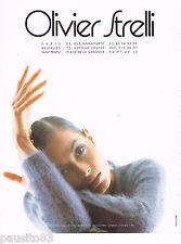 PUBLICITE ADVERTISING 065  1995  OLIVIER STRELLI   haute couture