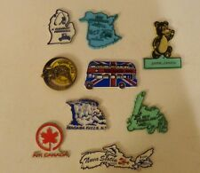 Lot 10 Kitchen Refrigerator Magnets Some vintage Fridge Canada Victoria Jasper