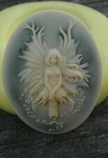 TREE FAIRY cameo silicone push mold mould  resin sugar craft clay USA