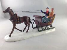 "Lemax Village Collection Poly-Resin ""Dashing Through The Snow"""