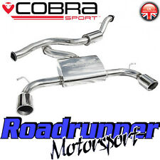 "Cobra Sport Focus ST225 3"" Exhaust System Stainless Cat Back - Resonated (FD23)"