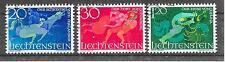 LIECHTENSTEIN/ Sagen MiNr 475/77 o Ersttagstempel