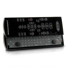 Remote Control Slide Out Keyboard Video Games + USB2.0 Receiver for PS3 Black