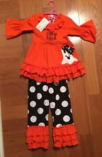 Halloween Boutique Girls Outfit 3t New