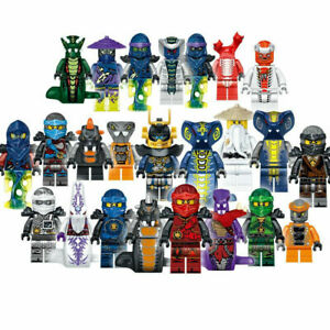 Ninjago Building Blocks Toys Minifigures Kids Mini Action Figures Set 24pcs