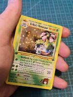 Handmade Proxy Venusaur / Bisaflor in English Fanart Pokemon Card In Holo