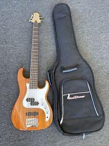 Corsair Greq Bennett Design ( CR-15 ) Electric 5-String Bass Guitar