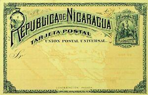 PARAGUAY 3c FINE UNUSED UPU TARJETA POSTAL CARD