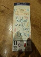 Sunshine with a Chance of Snow,Carole Matthews