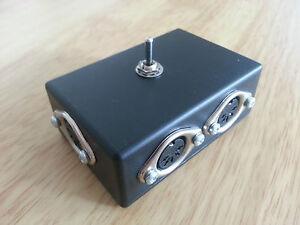MSWIT2 MIDI switcher with female output socket- Keyboard/Synth MIDI I/O