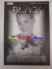BLACK MAGAZINE 24/ 2001 Alex Fergusson Diorama Human League Merge Grendel *No cd