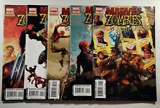 Marvel Zombies Army of Darkness #1-5 1st App Spider-Wolf 2007 Marvel Comics