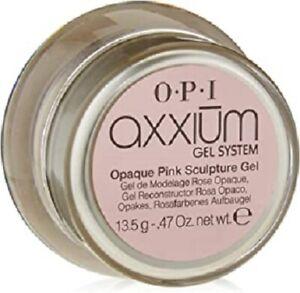 OPI AXXIUM OPAQUE PINK SCULPTURE GEL 13,5GR