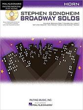 Stephen Sondheim - Broadway Solos: Horn (Hal Leonard Instrumental Play-Along), N