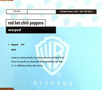 Red Hot Chili Peppers Maxi CD Warped - Promo - Europe (M/EX+)