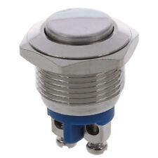Normalmente aperto NO N / O 16mm Interruttore a pulsante pneumatico rotondo S6V2