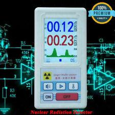 Nuklear Strahlung Detektor Dosimeter Radiometer Geigerzähler Alarmton Messgerät