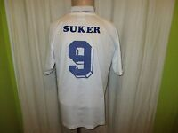 "Real Madrid Original Kelme Heim Trikot 1994-1996 ""Teka"" + Nr.9 Suker Gr.M"