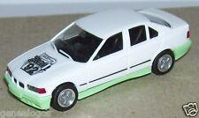 MICRO HERPA HO 1/87 BMW 325 I BICOLORE BLANCHE VERT d'eau RAI 92