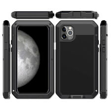 iPhone 11 Pro Max XS XR 8 7+ SE Metal Shockproof Aluminum HEAVY DUTY Case Cover