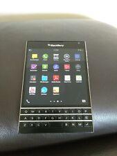 BlackBerry Passport 32GB Black (Unlocked) Smartphone - used but great condition