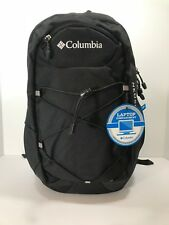 *New* Columbia Omni-Shield Neosho Day Pack/Backpack Black With Reflectors