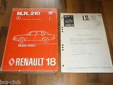 RENAULT 18 R18 Auflage 1978 Motor Technik Fahrwerk General WERKSTATT HANDBUCH