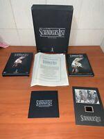COFANETTO THE SCHINDLER'S LIST EDIZIONE LIMITATA DVD + CD + LIBRO FOTOGRAFICO