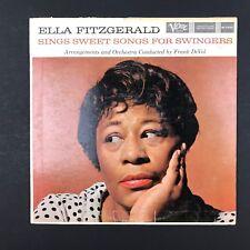 "ELLA FITZGERALD ~ Sings Sweet Songs ~ MG V 4032 ~ VINYL LP 12"" Record Album"