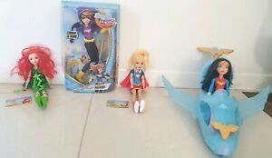 DC Super Hero girls doll set