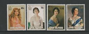 Cook Island - 1985, Life & Times of Queen Mother set - MNH - SG 1035/8